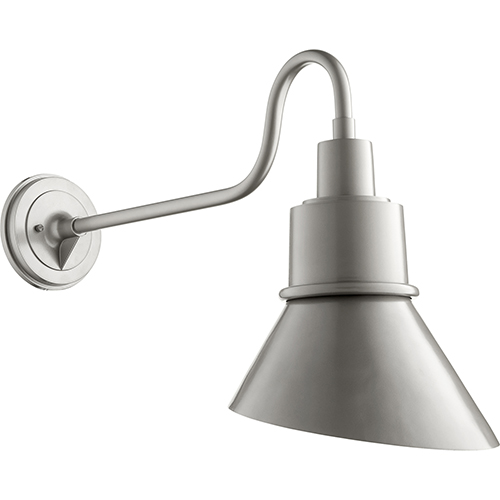 Torrey Graphite One-Light 11.25-Inch Outdoor Wall Sconce