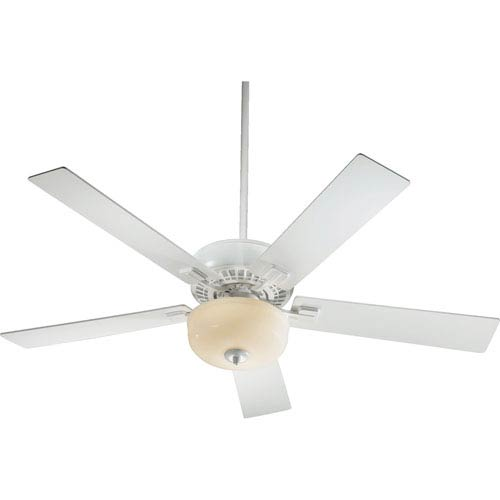 Quorum International Rothman Two-Light Studio White 52-Inch Ceiling Fan