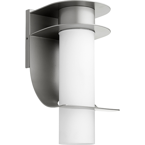 Downing Graphite One-Light 8-Inch Outdoor Wall Sconce
