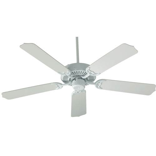 Quorum International Capri White 42-Inch Five Blade Ceiling Fan