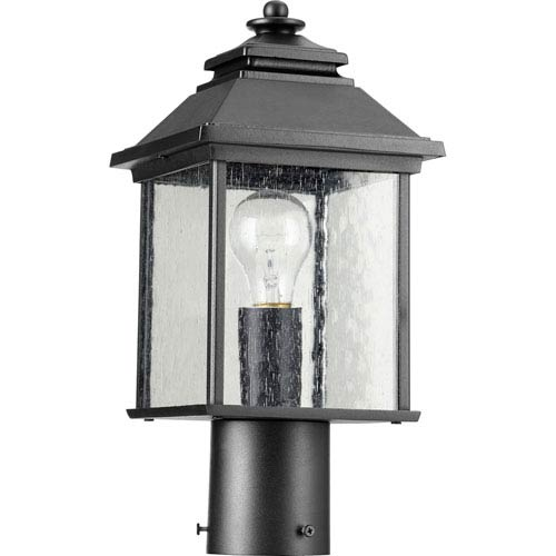 Pearson Noir One-Light 7-Inch Outdoor Post Light