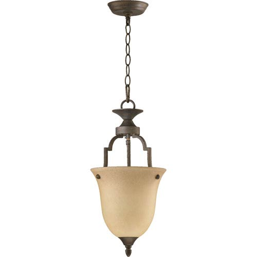 Coventry One-Light Toasted Sienna Convertible Pendant