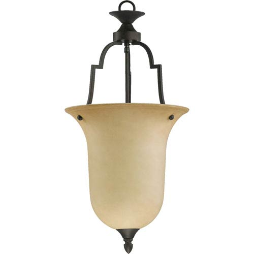 Quorum International Coventry Large One-Light Toasted Sienna Pendant