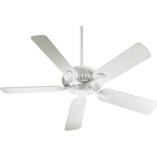 Quorum International Pinnacle Studio White Energy Star 52-Inch Ceiling Fan