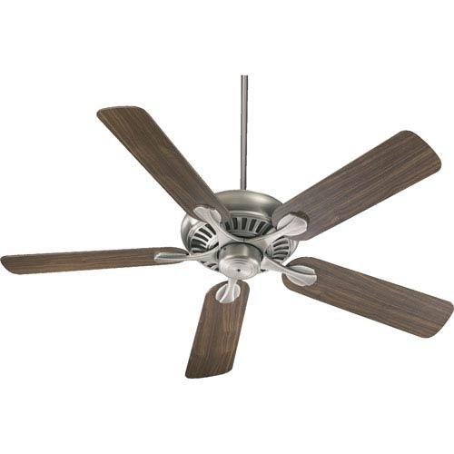 Pinnacle Antique Silver Energy Star 52-Inch Ceiling Fan