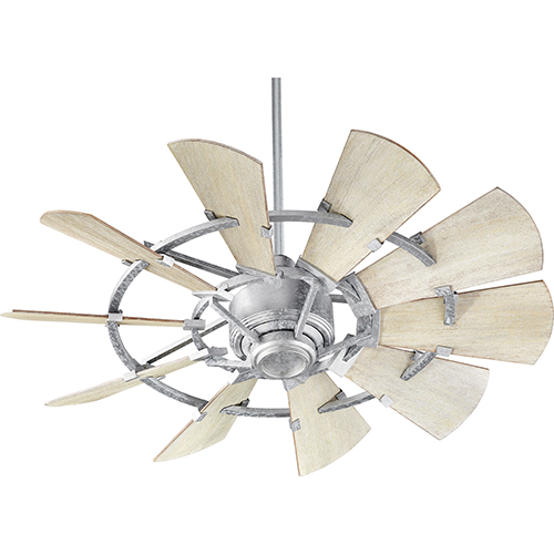 Windmill Galvanized  44-Inch Ceiling Fan