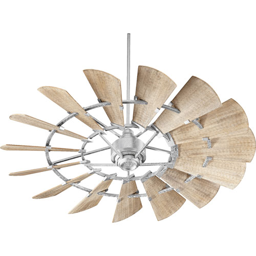 Windmill Galvanized 60-Inch Ceiling Fan