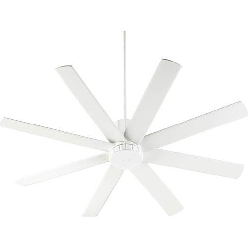 Quorum International Proxima Studio White 60-Inch Ceiling Fan