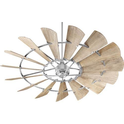 Windmill Galvanized 72-Inch Ceiling Fan