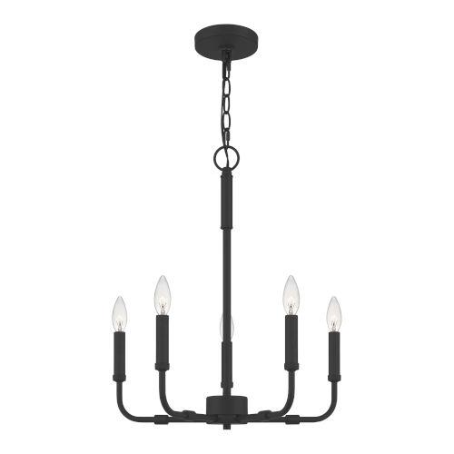 Abner 18-Inch Five-Light Chandelier