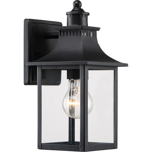 Chancellor Mystic Black One-Light Outdoor Wall Sconce