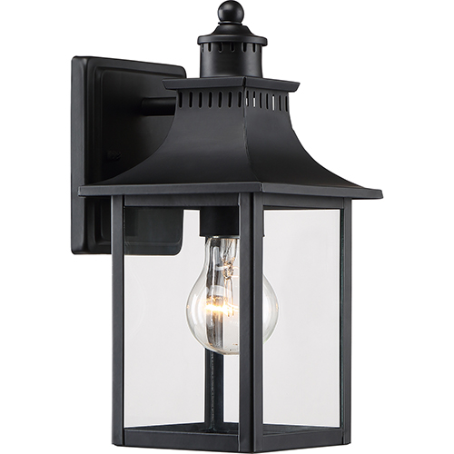 Quoizel Chancellor Mystic Black One-Light Outdoor Wall Sconce
