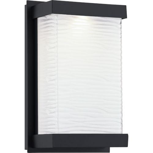 Celine Matte Black Six-Inch ADA LED Outdoor Wall Mount