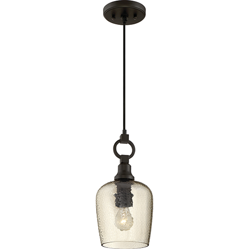 Kendrick Western Bronze One-Light Mini Pendant