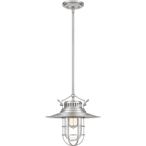 Starboard Brushed Nickel 13-Inch One-Light Pendant