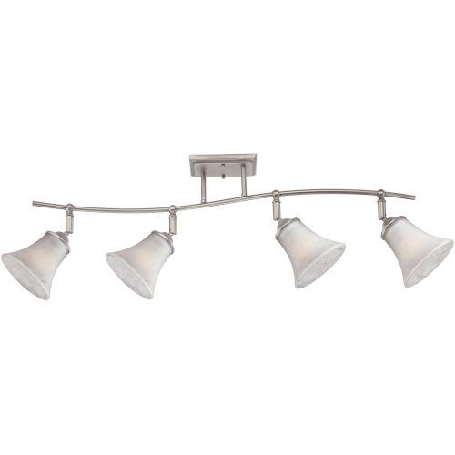 Duchess Antique Nickel Four-Light Ceiling Track Light