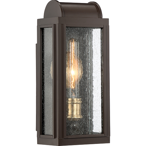 Quoizel Danville Western Bronze One Light Outdoor Wall Sconce