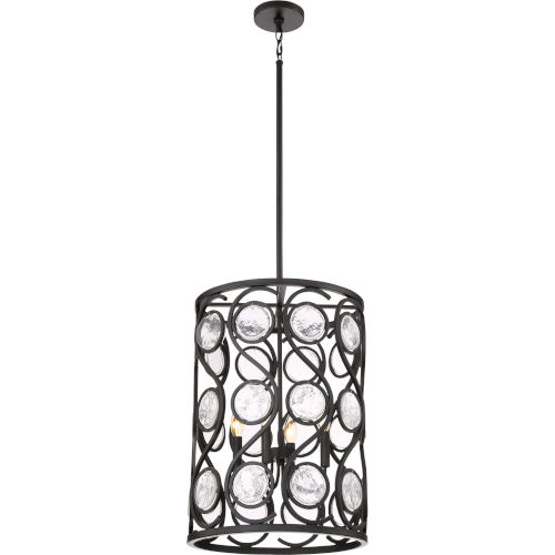 Jubilee Mystic Black 16-Inch Four-Light Pendant