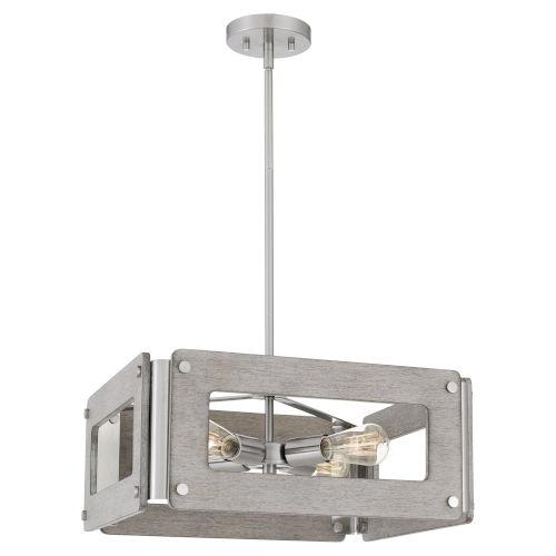 Lonny Brushed Nickel Four-Light Pendant