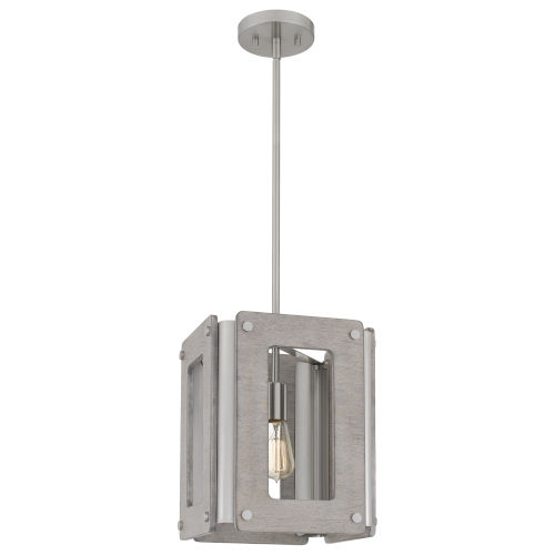 Lonny Brushed Nickel One-Light Pendant