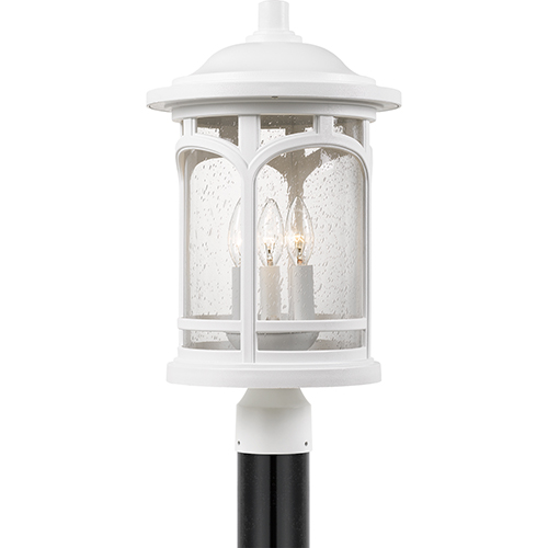 Quoizel Marblehead Fresco Three-Light Outdoor Post Mount