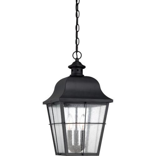 Millhouse Mystic Black Three Light Outdoor Hanging