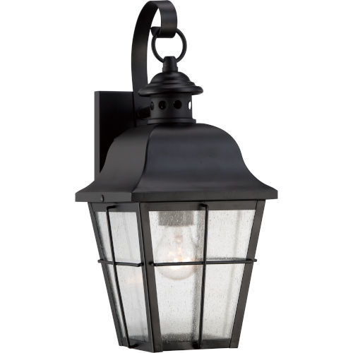 Millhouse Mystic Black One Light Outdoor Wall Fixture
