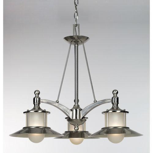 Nautical Three-Light Chandelier