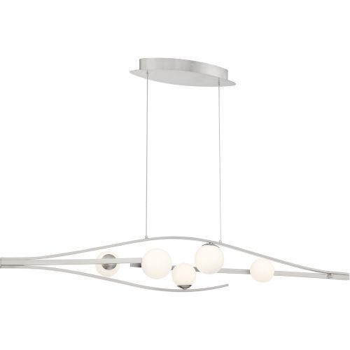 Interval Brushed Nickel 47-Inch LED Chandelier