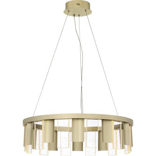 Brendel Silken Gold 24-Inch LED Pendant