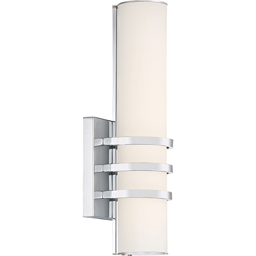 Quoizel Platinum Collection Trinity Polished Chrome LED Wall Sconce