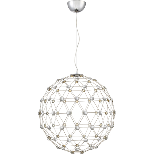 Quoizel Platinum Collection Zodiac Polished Chrome 29-Inch LED Pendant