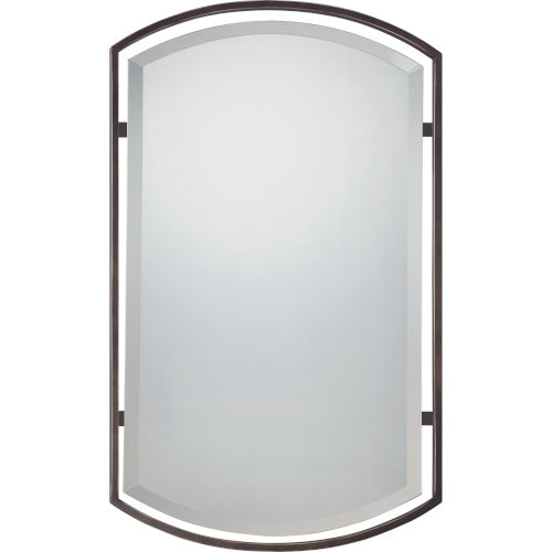Rectangle Palladian Bronze Mirror