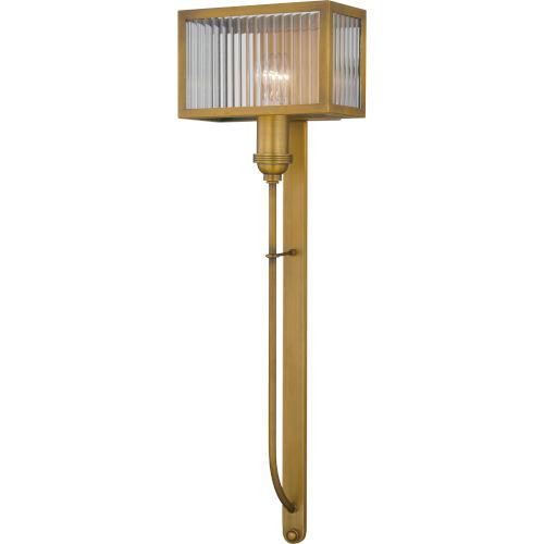Tillman Aged Brass One-Light Wall Sconce