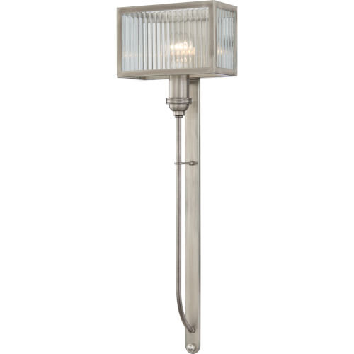 Tillman Polished Nickel One-Light Wall Sconce