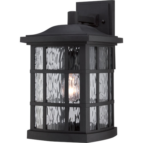 Stonington Mystic Black 15.5-Inch Height One-Light Outdoor Wall Mounted