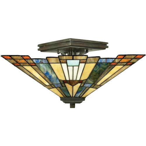 Inglenook Small Semi-Flush Ceiling Light