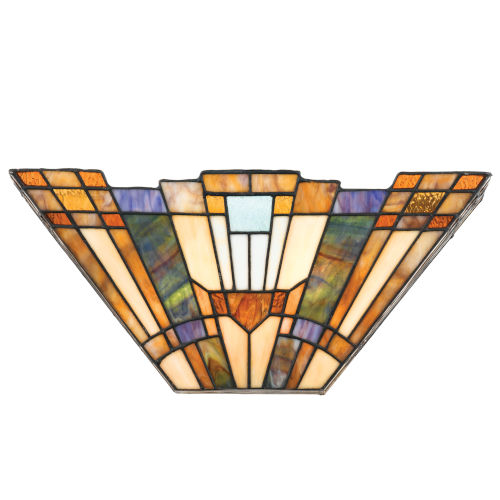 Inglenook Stained Glass Wall Sconce