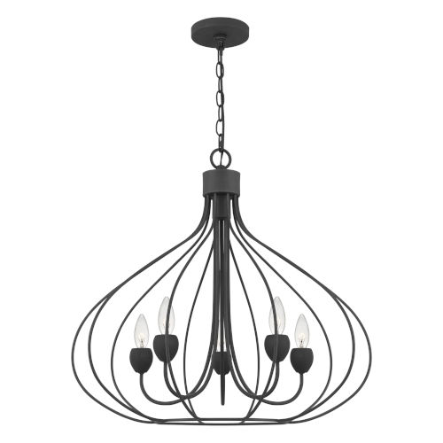 Walsh Gray Ash Five-Light Pendant