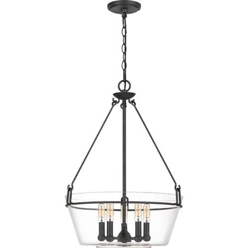 Wells Gray Ash Five-Light Pendant