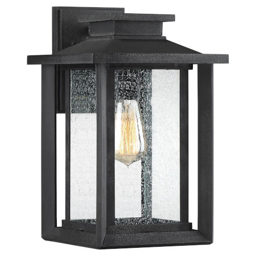 Wakefield Earth Black 14-Inch One-Light Outdoor Wall Sconce