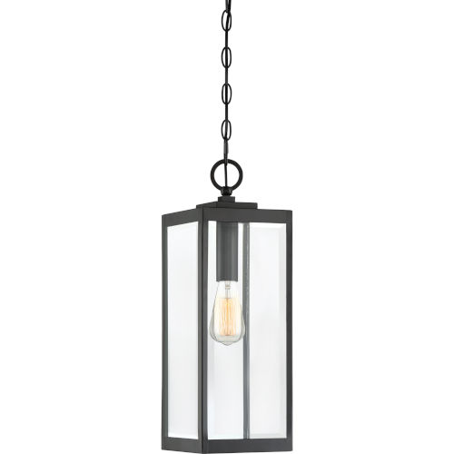 Westover Earth Black One-Light Outdoor Pendant