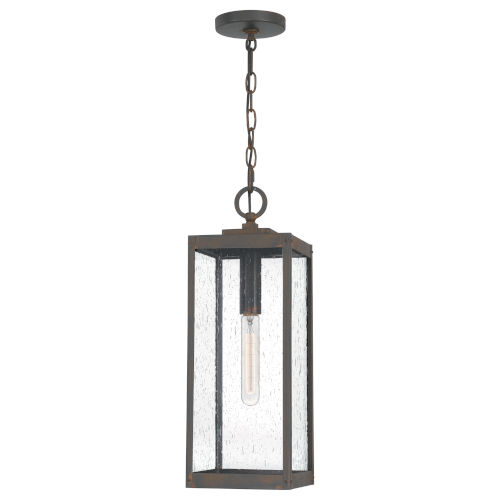 Westover Industrial Bronze One-Light Outdoor Pendant