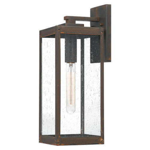 Westover Industrial Bronze Six-Inch One-Light Outdoor Wall Mount