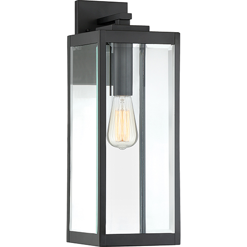 westover earth black 20 inch one light outdoor wall sconce - Outdoor Sconce Lighting