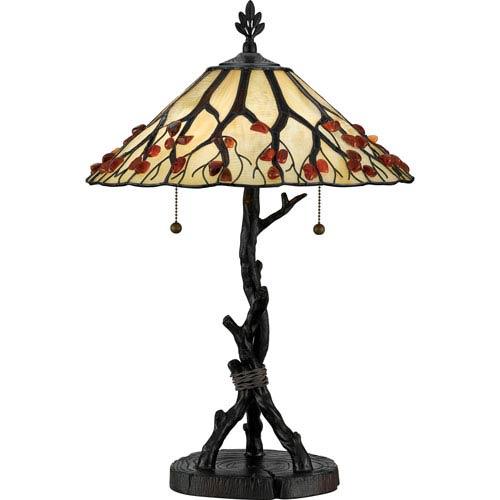 Agate Portable Valiant Bronze Table Lamp