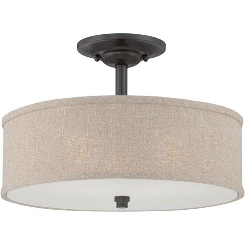Cloverdale Semi-Flush Mount