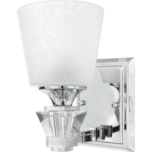Deluxe One-Light Bath Fixture