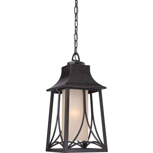Quoizel Hunter Imperial Bronze Eight-Inch Outdoor Pendant