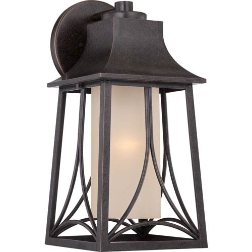 Quoizel Hunter Imperial Bronze Eight-Inch Outdoor Wall Sconce